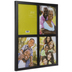 Black Window Collage Wood Wall Frame