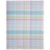 "Plaid Pastel Tablecloth - 60"" x 84"""