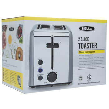 Gray Two Slice Toaster