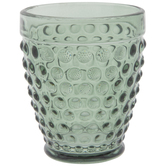 Green Hobnail Cup