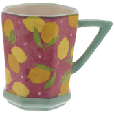 Lemons Octagon Mug