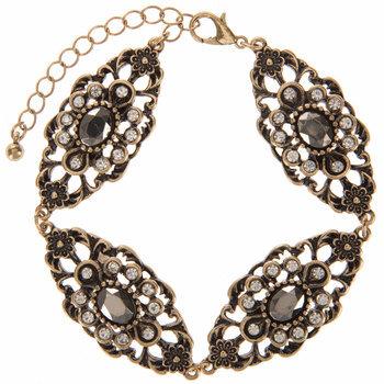 Vintage Oval Medallion Bracelet