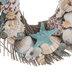 Seashells & Starfish Wood Twig Wreath