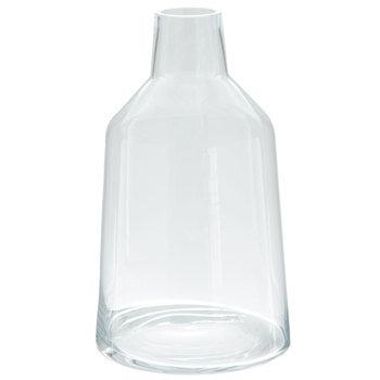 Thin Neck Cylinder Glass Vase