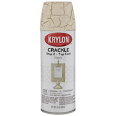 Krylon Ivory Crackle Top Coat Spray Paint