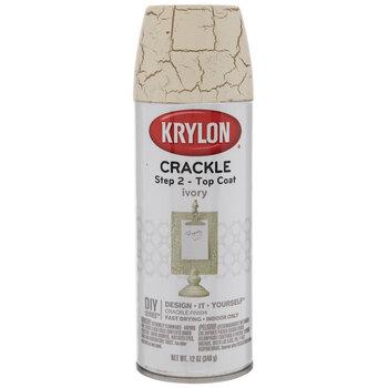 Krylon Ivory Crackle Top Coat Spray Paint