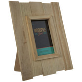 "Rustic Wood Frame - 4"" x 6"""