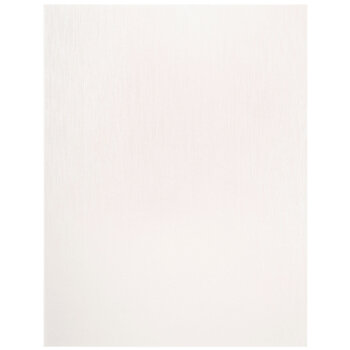 "White Silk Pearlescent Paper - 8 1/2"" x 11"""
