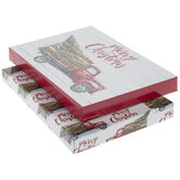 Merry Christmas Truck Gift Boxes