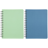 Mint & Blue Spiral Bound Bullet Journals