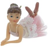 Lying Ballerina With Tutu Ornament