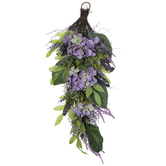 Lavender & Hydrangea Teardrop