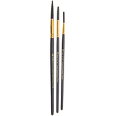 Lettering Paint Brushes - 3 Piece Set
