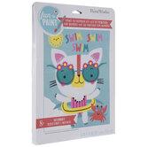 Swim Cat Paint By Number Kit