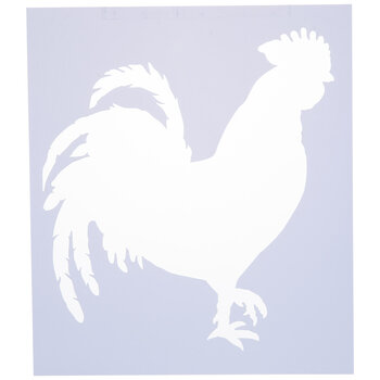 Rooster Stencil