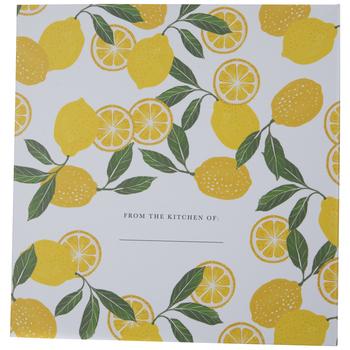 Lemon Recipe Organizer