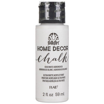 White Adirondack Home Decor Chalk Paint