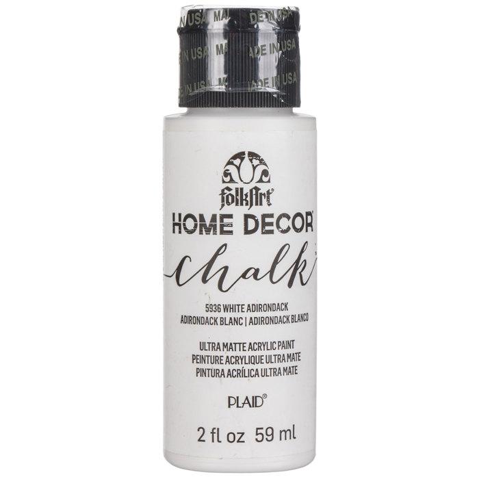 White Adirondack Home Decor Chalk Paint Hobby Lobby 80751091