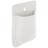 White Pocket Wall Container