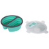 Green Round Silicone Lunch Container