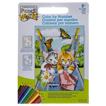Kittens Color By Number Kit
