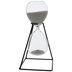 Gray Framed Hourglass