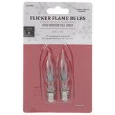 C7 Flicker Flame Bulbs