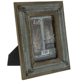 "Wood Frame With Metal Fillet - 4"" x 6"""