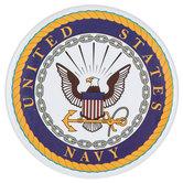 Navy Metal Magnet