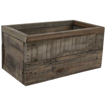 Rustic Crate Wood Container