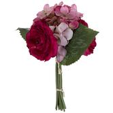 Pink Ranunculus & Hydrangea Mixed Bouquet