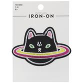 Kitty Planet Iron-On Applique