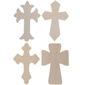 Cross Wood Shapes
