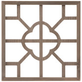 Geometric Cutout Wood Wall Decor