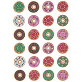 Christmas Donut Puffy Stickers