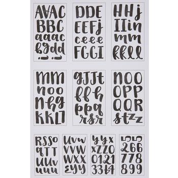Handwritten Alphabet Stickers