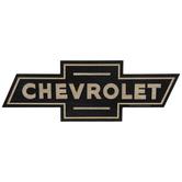 Chevrolet Logo Wood Wall Decor