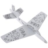 Patriotic Airplane Foam Craft Kit