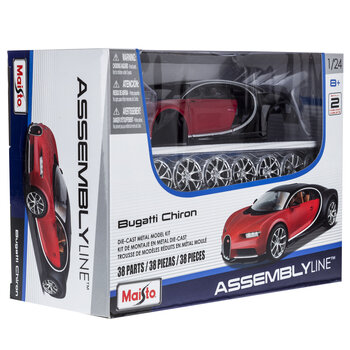Bugatti Chiron Die-Cast Model Kit