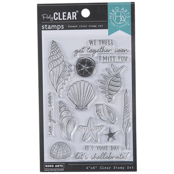 Sea You Soon Clear Stamps