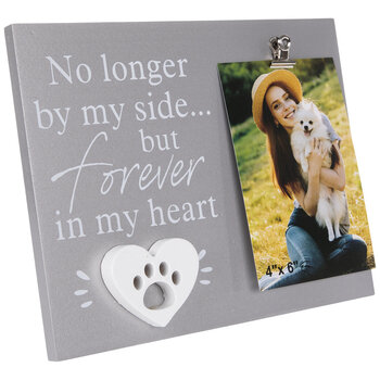 """Forever In My Heart Wood Clip Frame - 4"""" x 6"""""""