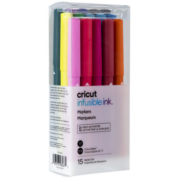 Assorted Cricut Infusible Ink Markers - 15 Piece Set