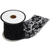 Black Tricot Lace Elastic Trim - 2 1/4