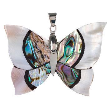 Butterfly Shell Pendant