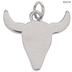 Bull Head Charm