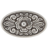 Oval Floral Concho