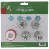 Snowflake Decorating Tips & Coupler