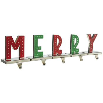 Merry Metal Stocking Holders