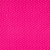 Pink & White Polka Dot Cotton Calico Fabric