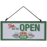 Friends Central Perk Reversible Wood Wall Decor